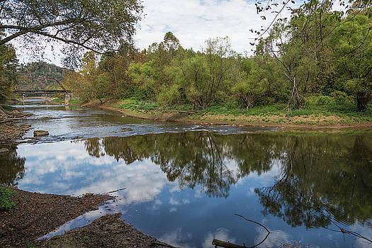 River Reflections by John M Bailey