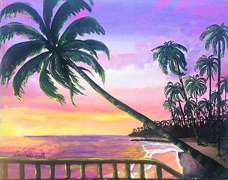 River Road Sunrise by Dawn Harrell