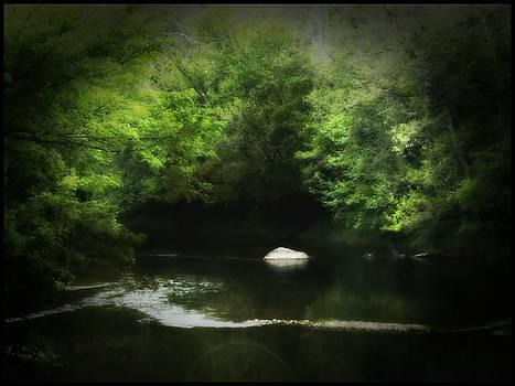 River Rock by Michael L Kimble