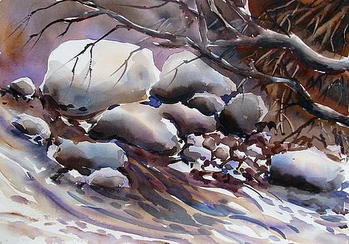 River rocks by Chito Gonzaga