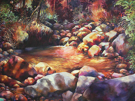 River Rocks by Monica Linville