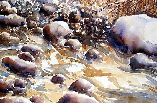 River' s edge by Chito Gonzaga