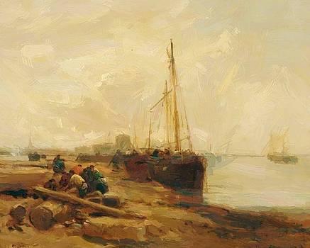 Webb James - River Scene
