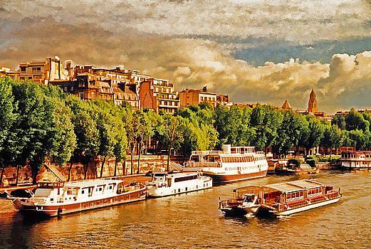 Dennis Cox WorldViews - River Seine