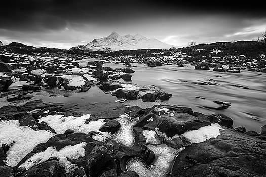 River Sligachan and Black Cuillin, Isle of Skye by Peter OReilly