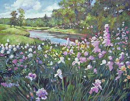 River Spring Garden by David Lloyd Glover