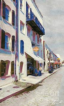 River Street Savannah  by Paul Wilford