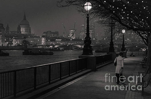 River Thames Embankment, London by Perry Rodriguez