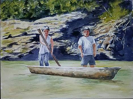 River Transportation by Lou Baggett