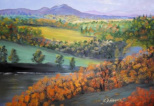 River Tweed Valley by James Higgins