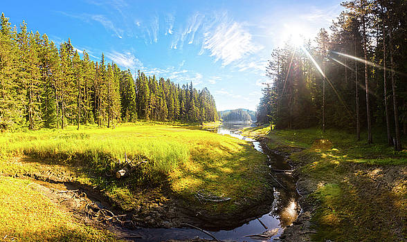 River Valley by Evgeni Dinev