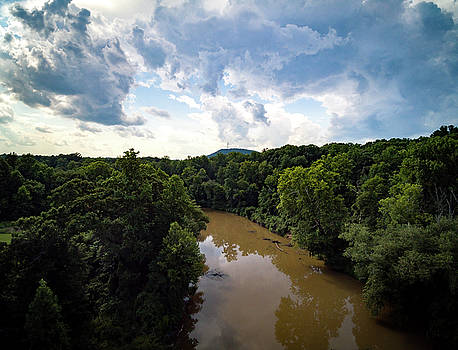 River View From Above by Ant Pruitt