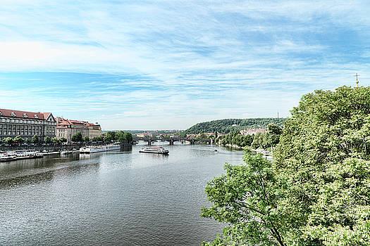 Sharon Popek - River Vltava