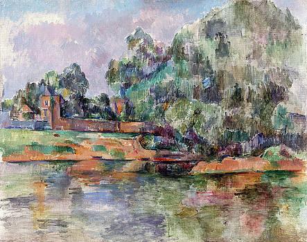 Paul Cezanne - Riverbank