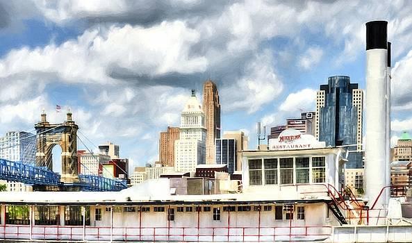 Mel Steinhauer - Riverboats Of Cincinnati # 2