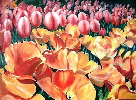 Riverdale Farm Tulips by Sharon Wright