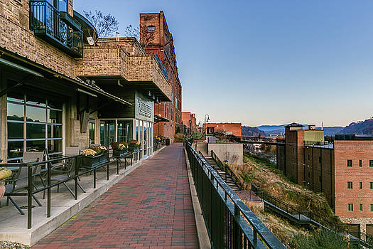 Riverfront at Morning by Tim Wilson