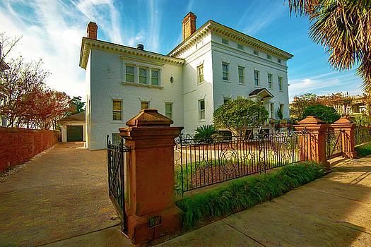 Riverfront Mansion by Jeffrey Hamilton