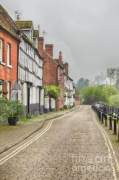 Riverside Houses in Bewdley, Worcestershire by Linsey Williams