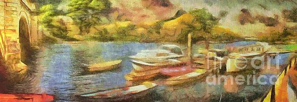 Riverside Impression by Leigh Kemp