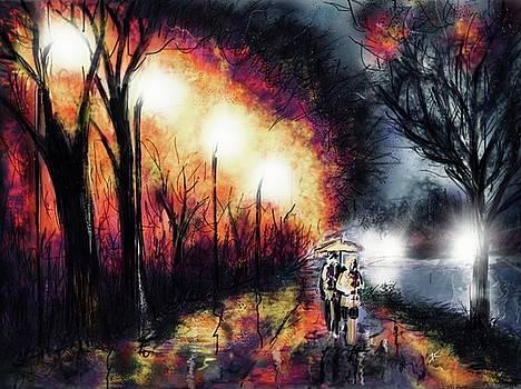 Riverside Night by Darren Cannell