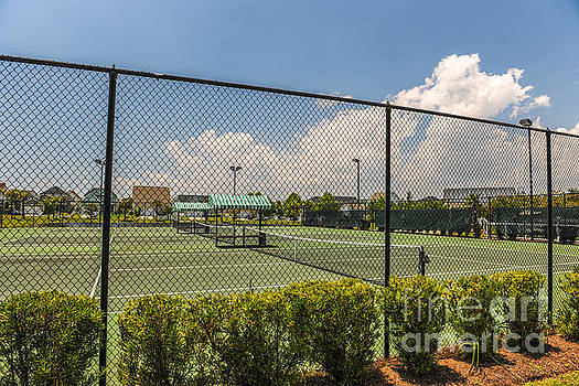 Dale Powell - Rivertowne Tennis Court