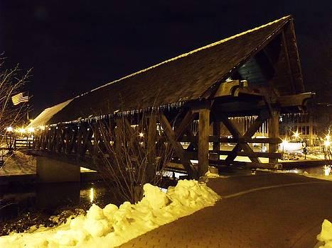 Riverwalk Bridge III by Anna Villarreal Garbis