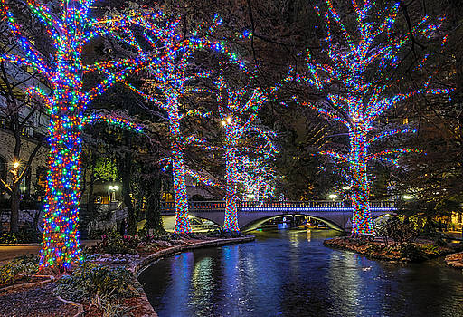 Riverwalk Christmas by Steven Sparks