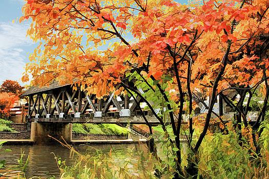 Riverwalk Covered Bridge by Christopher Arndt