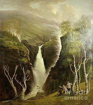 Rjukan waterfall by Johannes Flintoe
