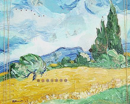 Ro and Van Gogh by Rowena Finn