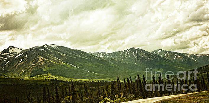 Road Curves Alaska by Chuck Kuhn