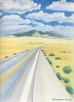 Road near Four Corners by Harriet Emerson