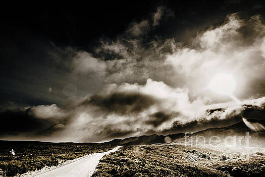 Road storm by Jorgo Photography - Wall Art Gallery