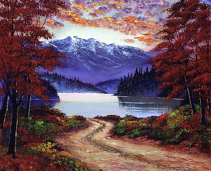 Road To Green Lake by David Lloyd Glover