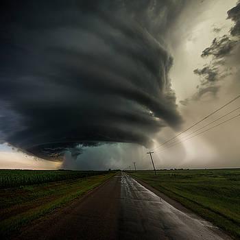 Road to Mesocyclone by Aaron J Groen