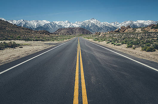 Margaret Pitcher - Road to Mt. Whitney No.2