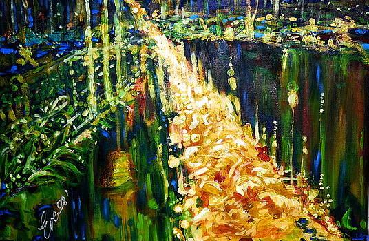 Road to paradise by Ewa BOROWKA