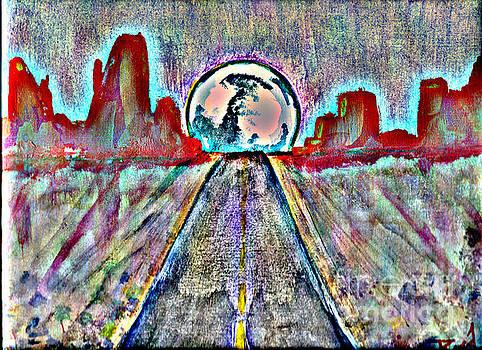 Road to Sedona 2 by Reed Novotny