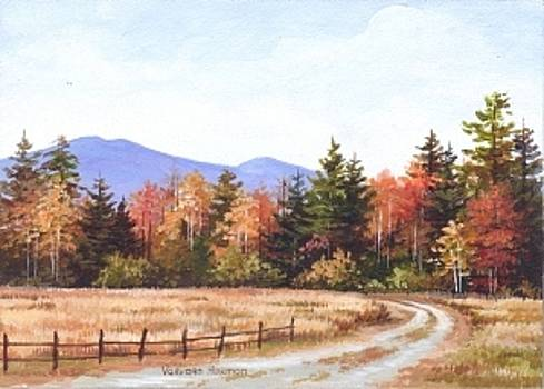 Road to the Mountains by Varvara Harmon