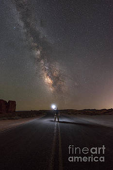 Hitchhike To The Galaxy by Michael Ver Sprill