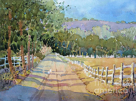 Road to the Vineyard by Joyce Hicks