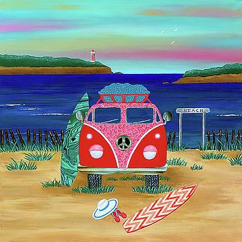 Road Trip no. 1 by Lisa Frances Judd