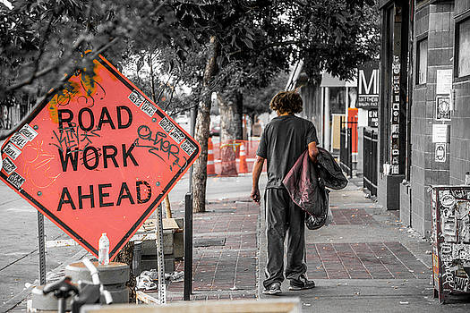 Road Work Ahead by Kyle Field