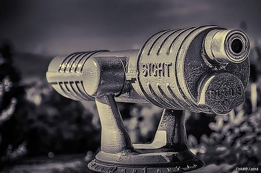 Roadside Telescope by Ken Morris