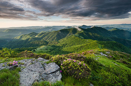 Roan Highlands Southern Appalachian Trail Spring Scenic by Mark VanDyke
