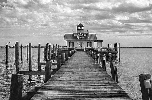 Roanoke Marshes Light by David Sutton