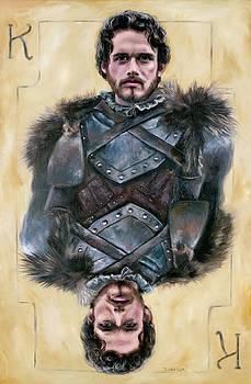 Robb Stark by Denise H Cooperman