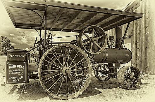 Steve Harrington - Robert Bell Steam Engine - Sepia
