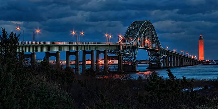 Robert Moses Bridge At Dusk #2 by I Cale